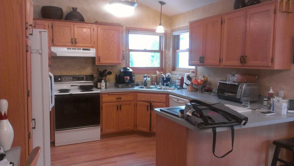 Can Kitchen Cabinets Be Restained
