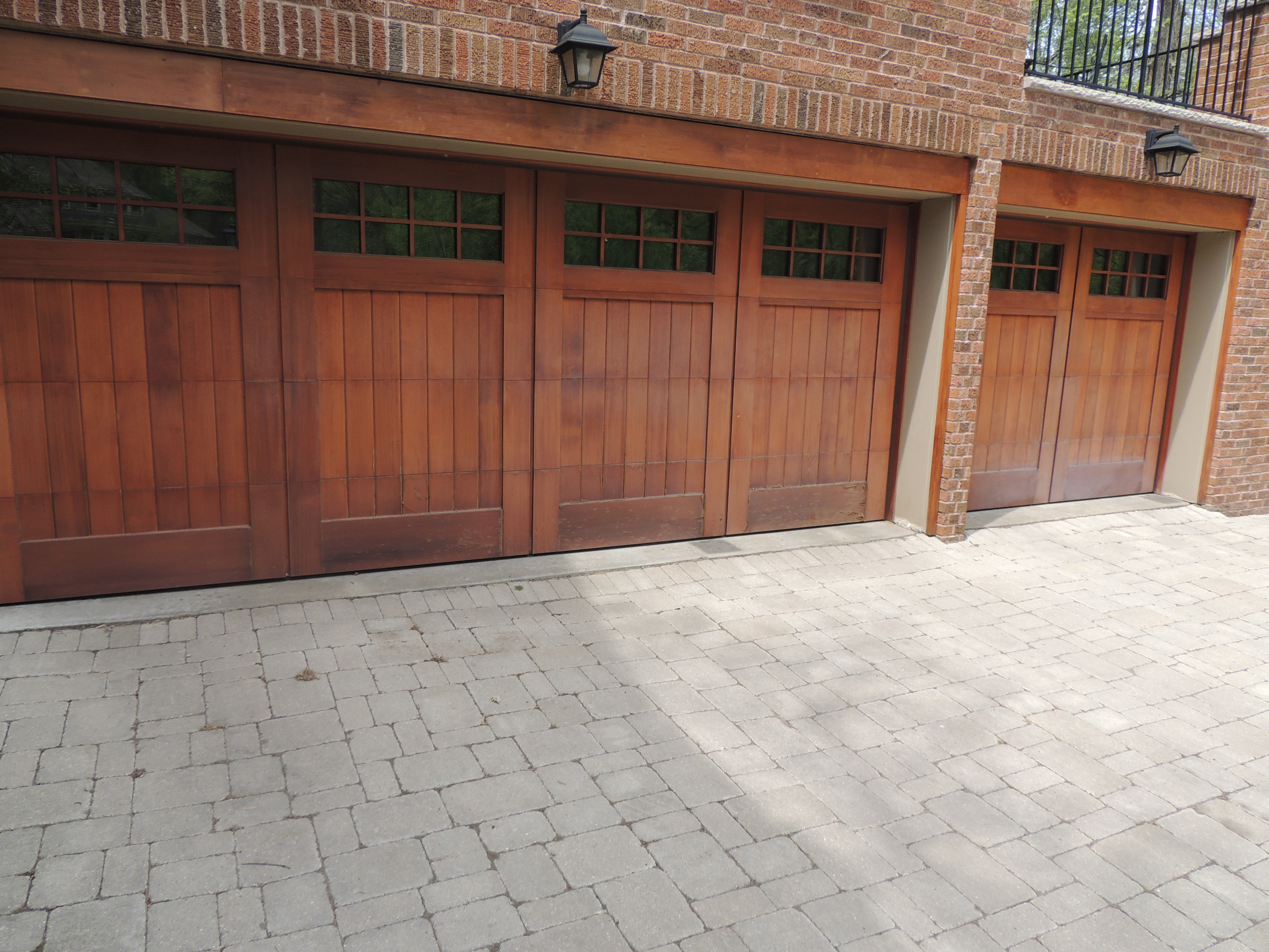 Level 4 Garage Door Refinish - Painterati on door to closet, door to root cellar, door to school, door to library, door to equipment room, door to porch, door to gym, door to wall, door to sunroom, door to yard, door to bedroom, door to church, door to safe room, door to office, door to door, door to pantry, door to mechanical room, door to restaurant, door to auditorium, door to shed,