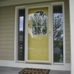 Enhance your Exterior Yellow Door
