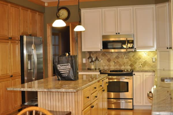 Cabinets Restored with Beadboard