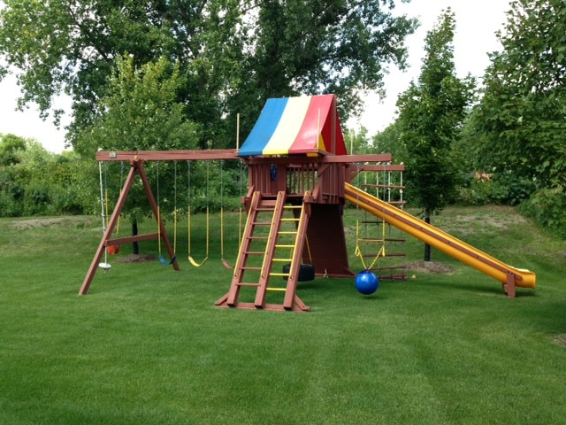 Don't Fret About the Play Set