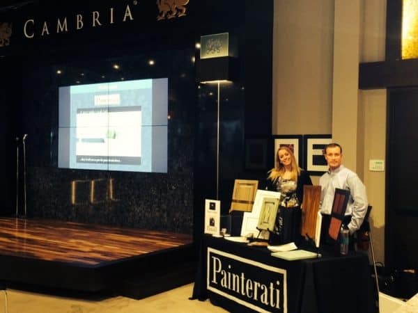 Cambria Event All About Paint Recap