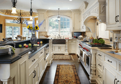 Popular Kitchen Styles of 2015 – The Traditional Kitchen