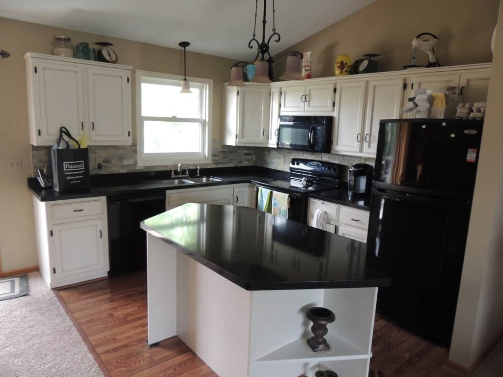 anoka kitchen cabinet refinishing project resurfacing kitchen cabinets After Anoka Project