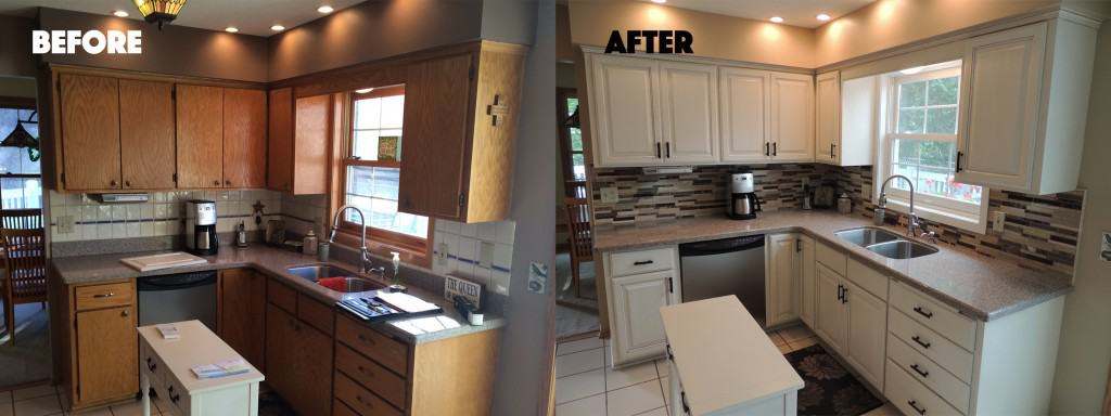 Chanhassen Kitchen Before and After