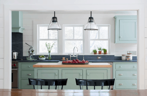 Cottage Kitchen - Lighting