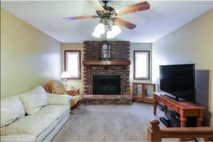 Minneapolis, Interior Painters, House Painters, Best Painters, Painting Contractor, millwork, fresh paint, updated, remodel, refresh, wall painters, fireplace, brick, before & after, painted brick