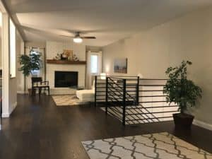 painted brick, Minneapolis, Interior Painters, House Painters, Best Painters, Painting Contractor, millwork, fresh paint, updated, remodel, refresh, wall painters, fireplace, brick