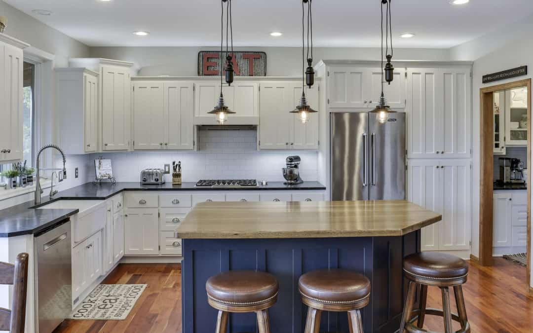 Update Your Kitchen with Enameled Cabinets