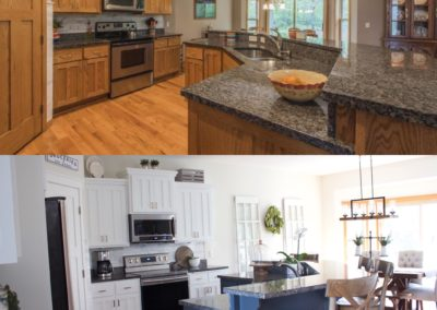 Andover Kitchen Before & After