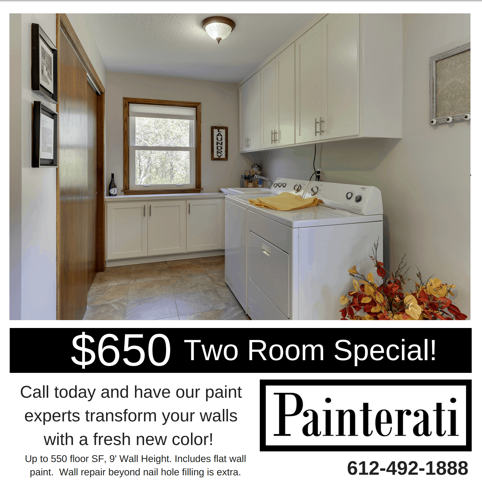 Two Room Special!