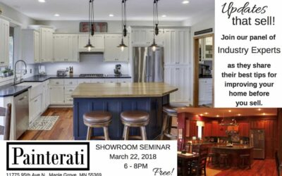 Showroom Seminar: Updates to Enjoy Before you Sell Your Home – March 22, 2018