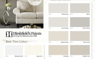 Best Wall Colors – Hirshfields